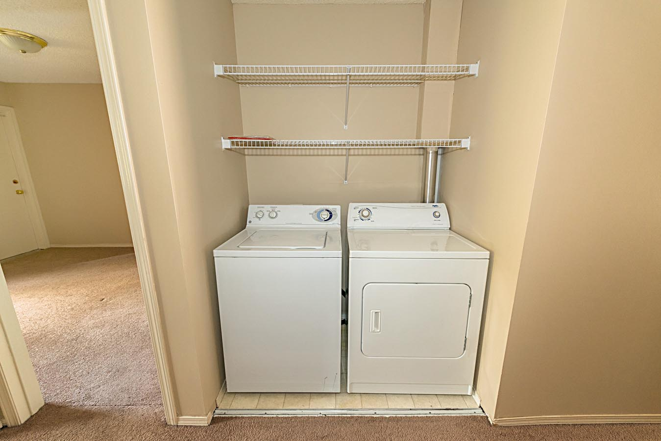 In-suite laundry in Cedarville Apartments