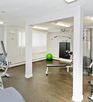 Fitness Centre at Lakeview Apartments