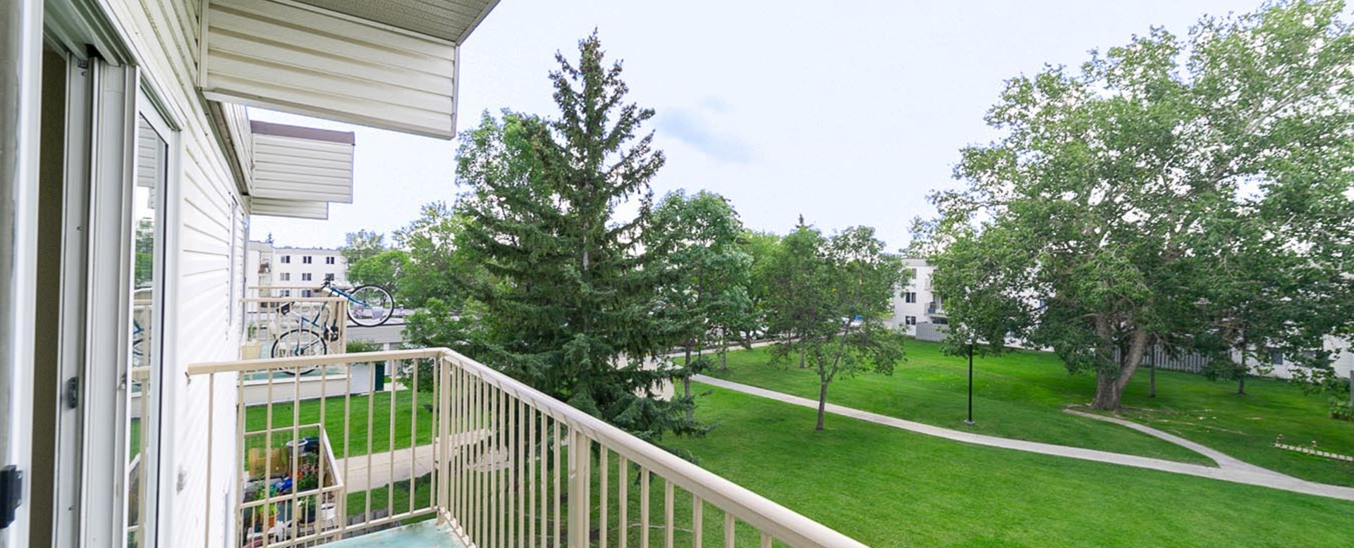 Balcony View from Leewood Village