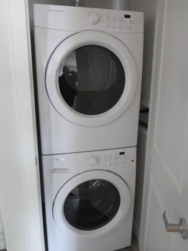 Ensuite Washer and Dryer in Pines Edge in Regina