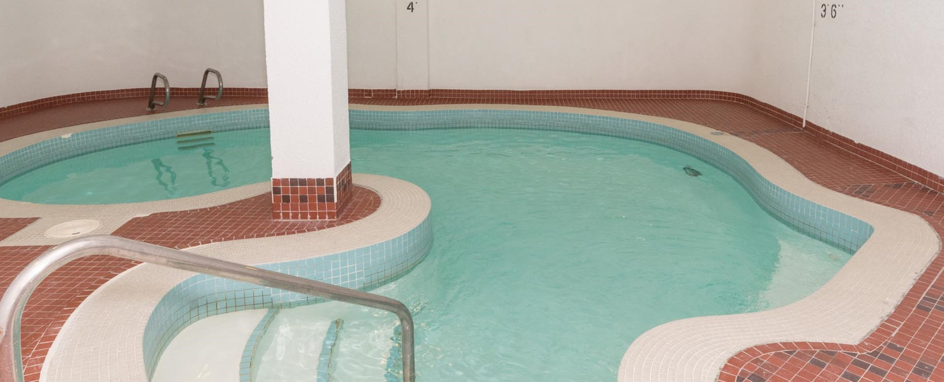 Pool at Solano House in Edmonton