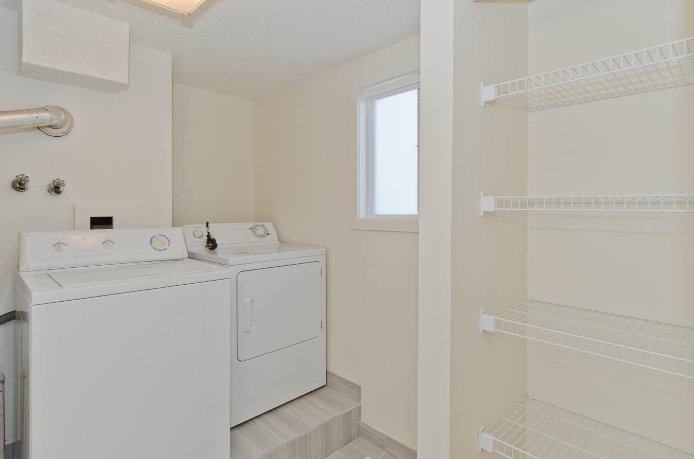 In-suite laundry in Russet Court