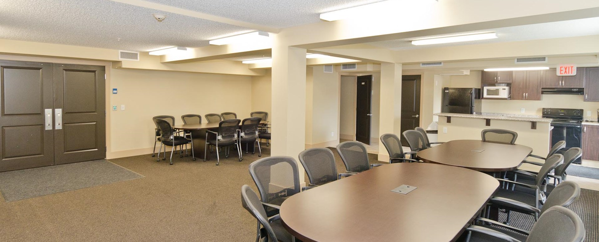 Community rooms at Spruce Ridge Gardens in Calgary